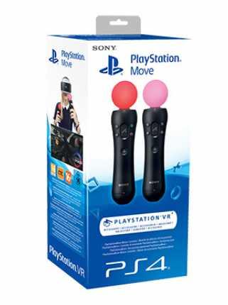 Набор контроллеров PlayStation Move (2-pack)