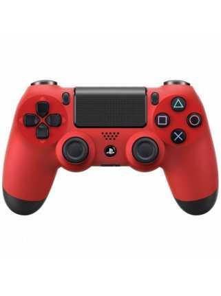 Беспроводной контроллер DUALSHOCK 4, красный