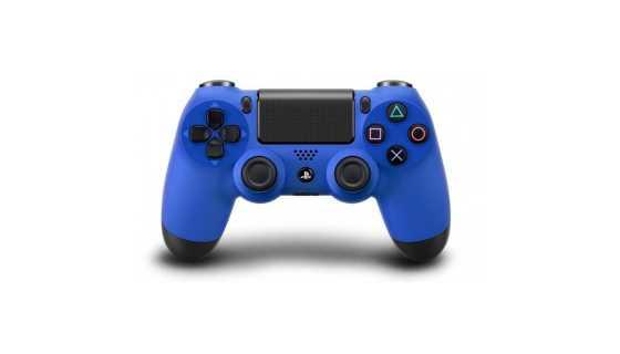 Беспроводной контроллер DUALSHOCK 4, синий