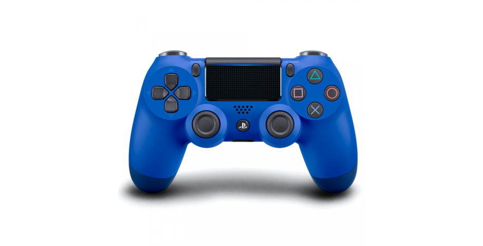 Геймпад DUALSHOCK 4 v2 (Wave Blue)