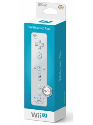 Контроллер Remote Plus белый (со встроенным Wii Motion)