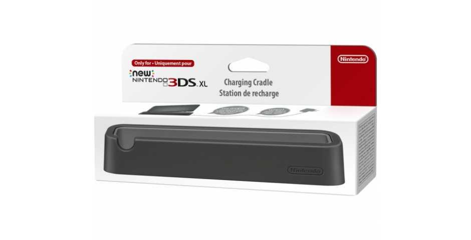 New Nintendo 3DS XL Cradle ( черный )