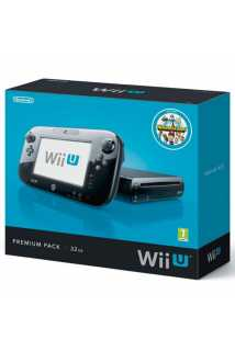 Nintendo Wii U 32GB Premium Pack Black + Batman: Arkham Origins Wii U [USED]