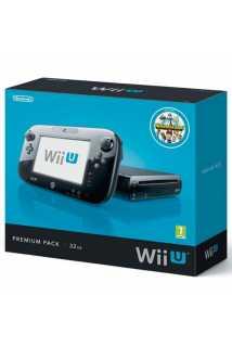 Nintendo Wii U 32GB Premium Pack Black + Batman: Arkham Origins Wii U [USED]
