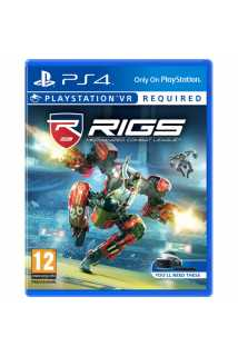 RIGS: Mechanized Combat League (только для VR) [PS4, русская версия]