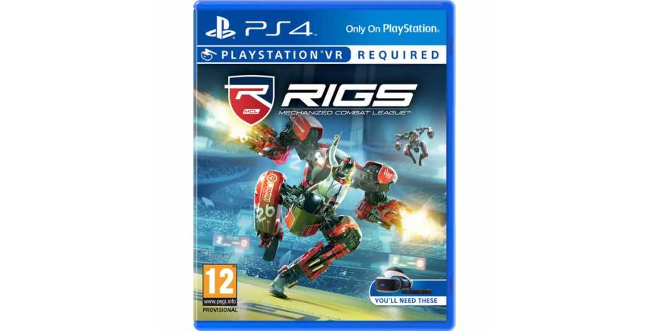 RIGS: Mechanized Combat League (только для VR) [PS4, русская версия]