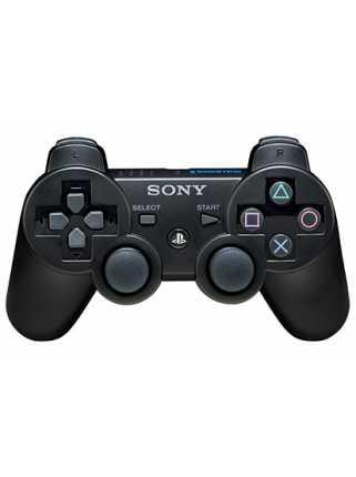 Sony Dualshock 3 Беспроводной геймпад PS3 ( черный )