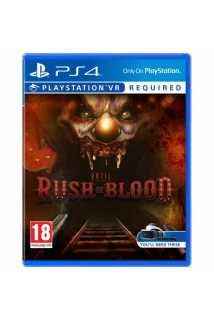 Until Dawn: Rush Of Blood (только для VR) [PS4, русская версия]