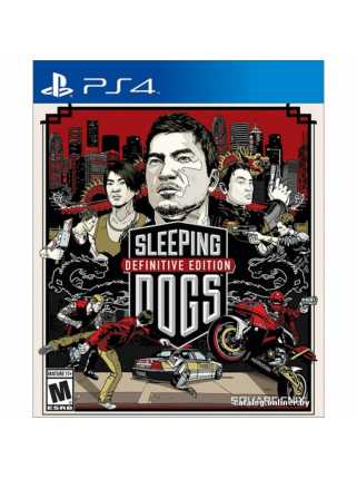 Sleeping Dogs: Definitive Edition [PS4, русская версия]