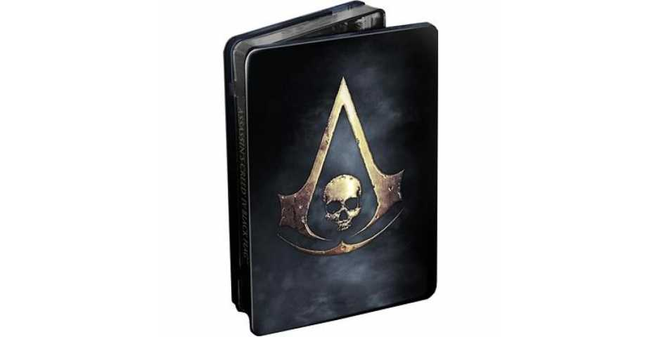 Assassin's Creed IV. Черный флаг. Skull Edition [PS4]
