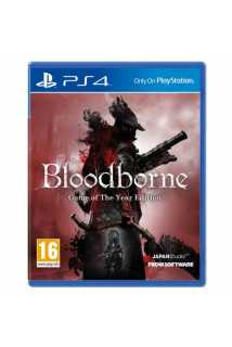 Bloodborne PS4 Game of the Year Edition [PS4, русская версия]