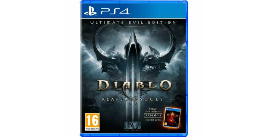 Diablo 3 : Reaper of Souls. Ultimate Evil Edition [PS4, русская версия]