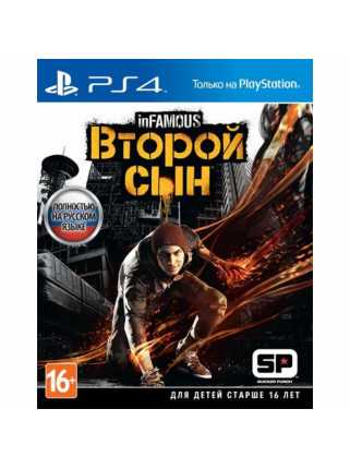 inFamous: Second Son [PS4, русская версия]