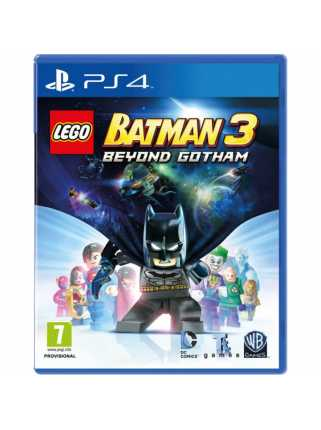 LEGO Batman 3: Beyond Gotham [PS4, русская версия]
