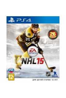NHL 15 [PS4, русская версия]