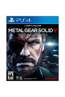Metal Gear Solid 5: Ground Zeroes [PS4, русская версия]