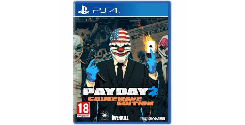 Payday 2 Crimewave Edition [PS4]