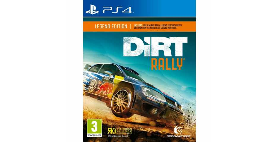 Dirt Rally Legend Edition [PS4]