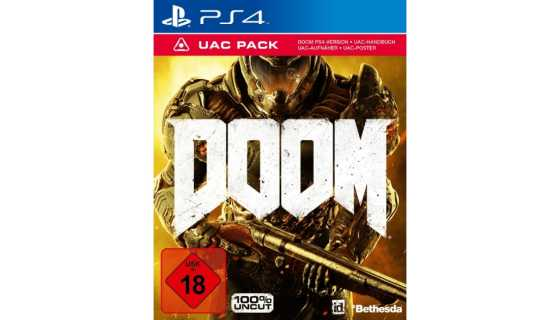 Doom UAC Pack Edition Русская версия [PS4, русская версия]