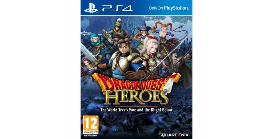 Dragon Quest Heroes The World Tree's Woe and The Blight Below [PS4]