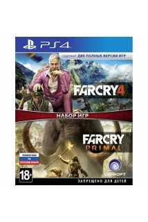Far Cry 4 + Far Cry Primal [PS4, русская версия]