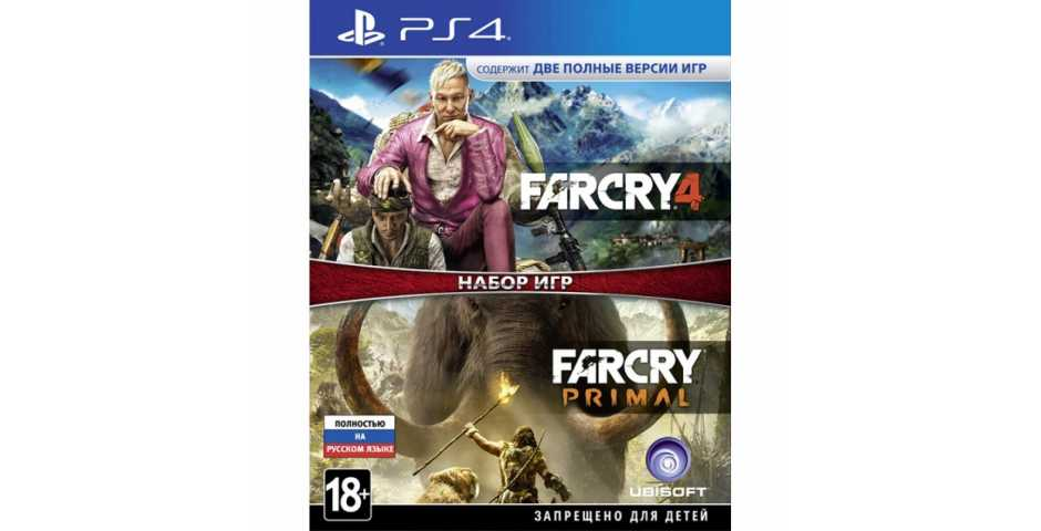 Far Cry 4 + Far Cry Primal [PS4, русская версия]