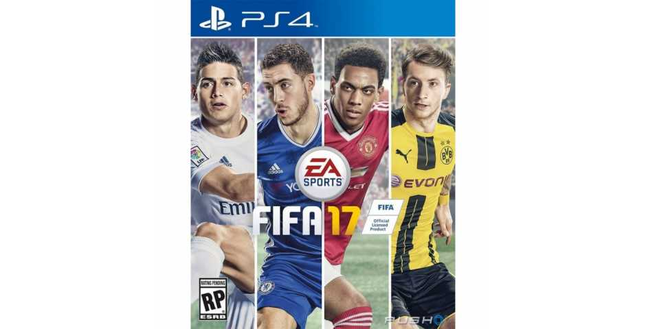FIFA 17 [PS4, русская версия]