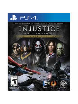 Injustice: Gods Among Us - Ultimate Edition [PS4, русская версия]