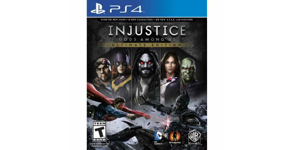 Injustice: Gods Among Us - Ultimate Edition [PS4]
