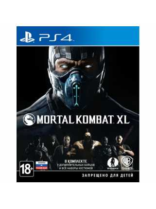 Mortal Kombat XL [PS4, русская версия]