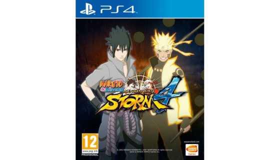 Naruto Shippuden: Ultimate Ninja Storm 4 (Русская версия) [PS4]