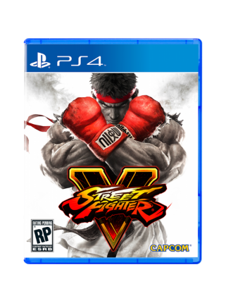 Street Fighter V Steelbook Edition [PS4, русская версия]