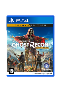Tom Clancy's Ghost Recon: Wildlands. Deluxe Edition [PS4, русская версия]