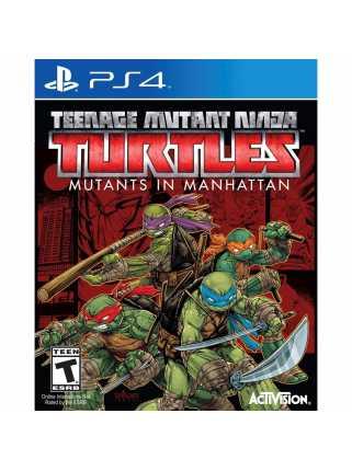 Teenage Mutant Ninja Turtles. Mutants in Manhattan [PS4, английская версия]