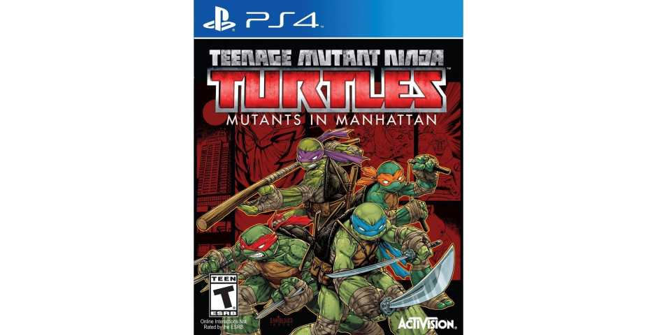 Teenage Mutant Ninja Turtles. Mutants in Manhattan [PS4, английская версия]