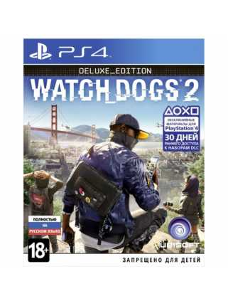 Watch Dogs 2 Deluxe Edition  [PS4, русская версия]