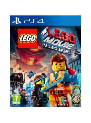 LEGO Movie: Videogame [PS4, русская версия]