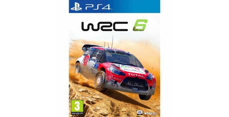 WRC 6 [PS4, русская версия]