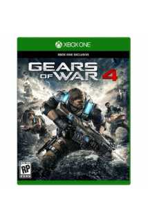 Gears of War 4 [Xbox One, русские субтитры] [USED]