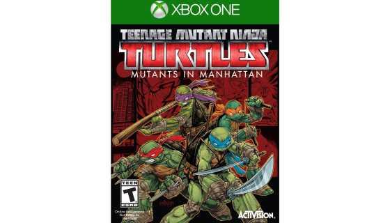 Teenage Mutant Ninja Turtles. Mutants in Manhattan