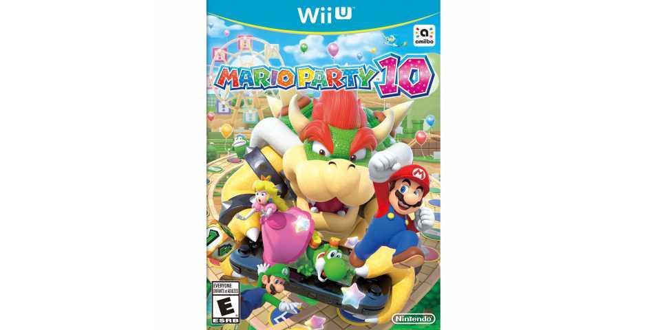 Mario Party 10 (Русская версия) [Wii U]