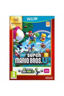 New Super Mario Bros. U + New Super Luigi U (Nintendo Selects) [WiiU]
