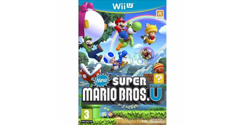 New Super Mario Brothers U [WiiU]