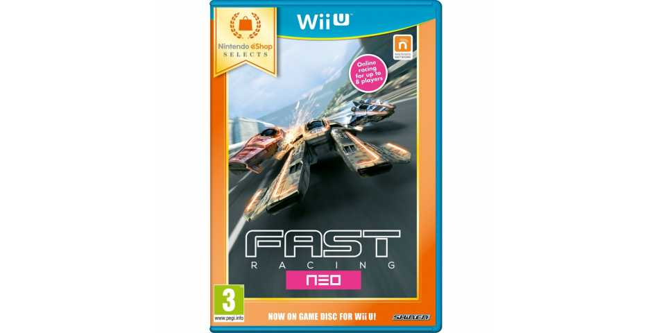 Fast Racing NEO (eShop Selects) [Wii U]