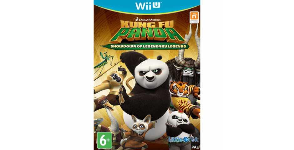 Kung Fu Panda: Showdown of Legendary Legends [Wii U]