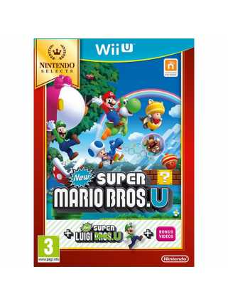New Super Mario Bros. U + New Super Luigi U (Nintendo Selects) [WiiU]
