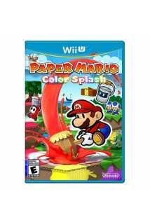 Paper Mario: Color Splash [WiiU]