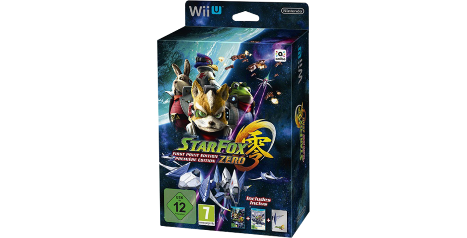 Star Fox Zero First Print Edition [Wii U]
