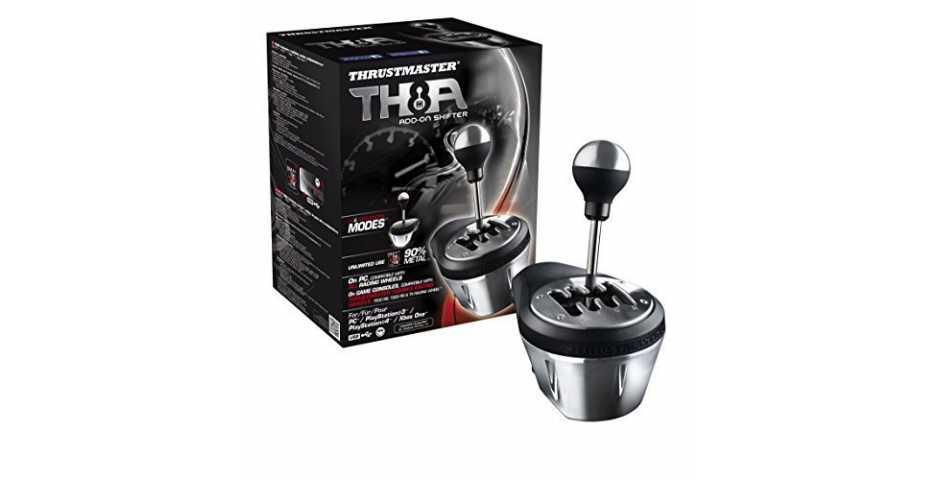 Игровые рули - Коробка передач Thrustmaster TH8A [PS4, PS3, Xbox One, PC]