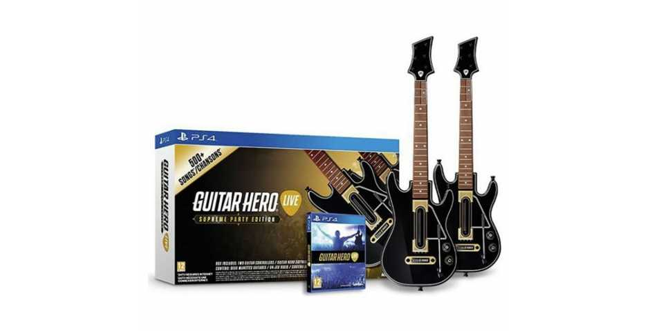 Guitar Hero Live Supreme Party Edition [PS4]